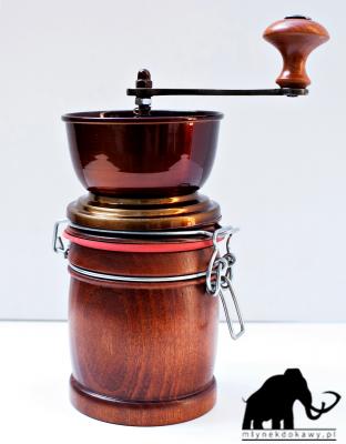 Młynek puszka cygaro brazylijskie